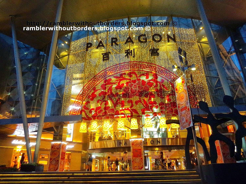 CNY display, Paragon, Orchard Road, Singapore