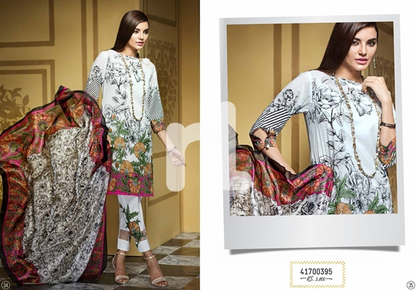Nishat linen Nisha Eid collection 2017