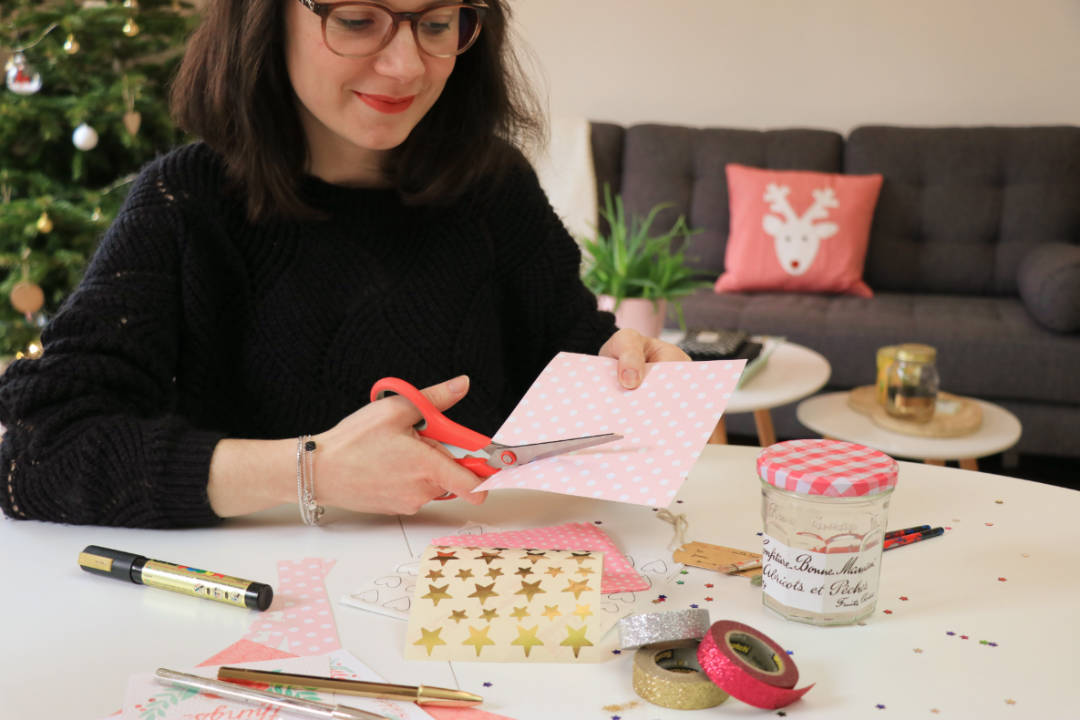 les gommettes de melo diy do it yourself bonne maman jar à voeux