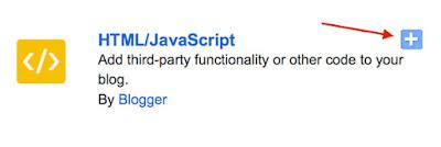 Blogger HTML JavaScribe