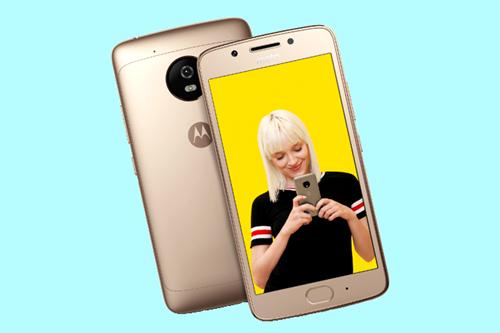 Moto G5 está disponível nas cores prata e dourada