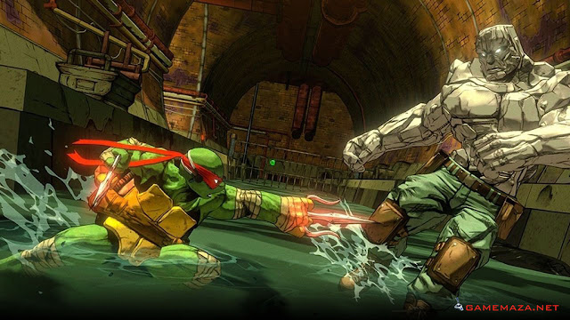 Teenage Mutant Ninja Turtles Mutants In Manhattan Gameplay Screenshot 1