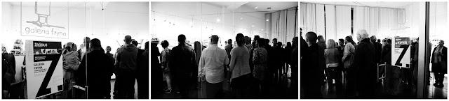 """Między miastem a wyobraźnią - Podsumowanie wystawy fotografii odklejonej Klubu Fotograficznego """"Źródło"""" w Galerii Fryna w Rudzie Śląskiej."""