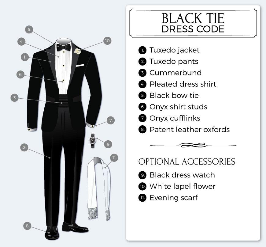 Black 7 white dresses to ear