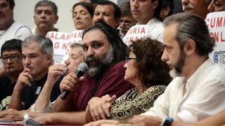 El preceptor Roberto Baradel encabeza las negociaciones en la Provincia (DyN)
