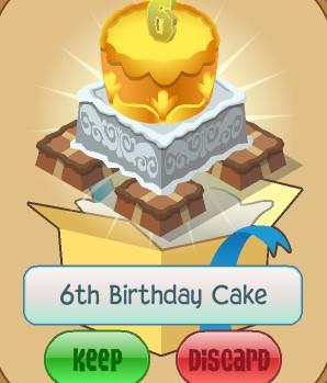 Birthday Cake Aj