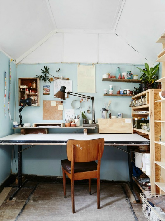 Home garden 40 inspirations pour am nager un coin bureau - Amenager un coin bureau ...