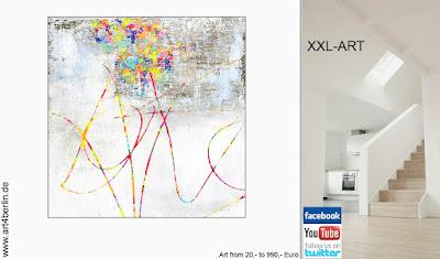 XXL abstrakte Malerei, große Bilder