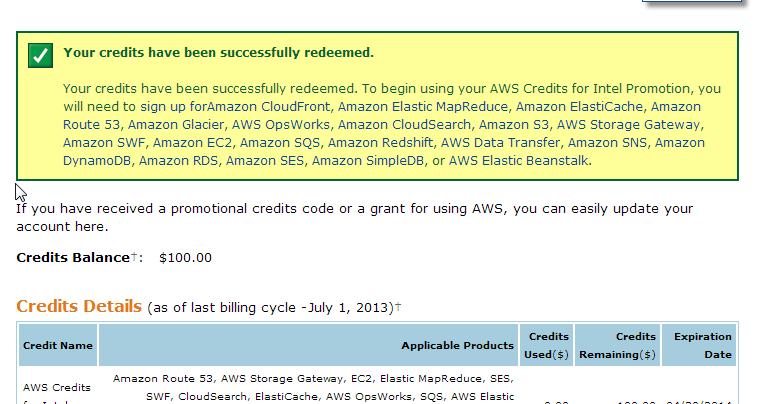 Redeem an aws credit coupon : Wss coupons