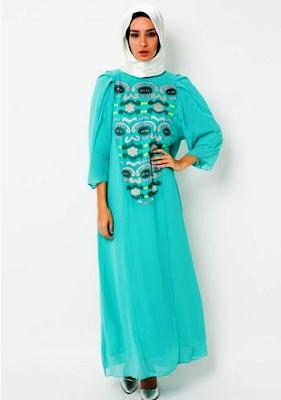 Baju Muslim Gamis Modern Terbaru