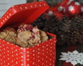 Fresh Cranberry Drop Cookies