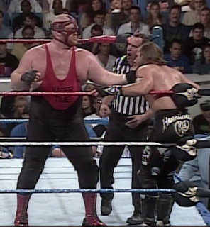 WWF / WWE SUMMERSLAM 1996 - Vader dominated his WWF Championship match against Shawn Michaels