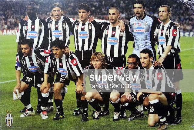 Juventus Team Squad 2002