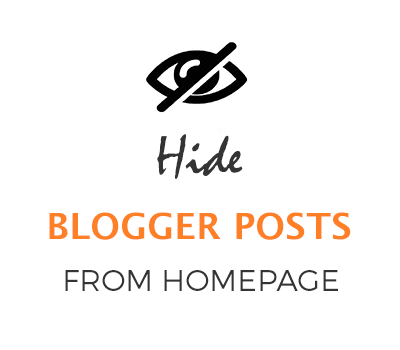 hide post from home page