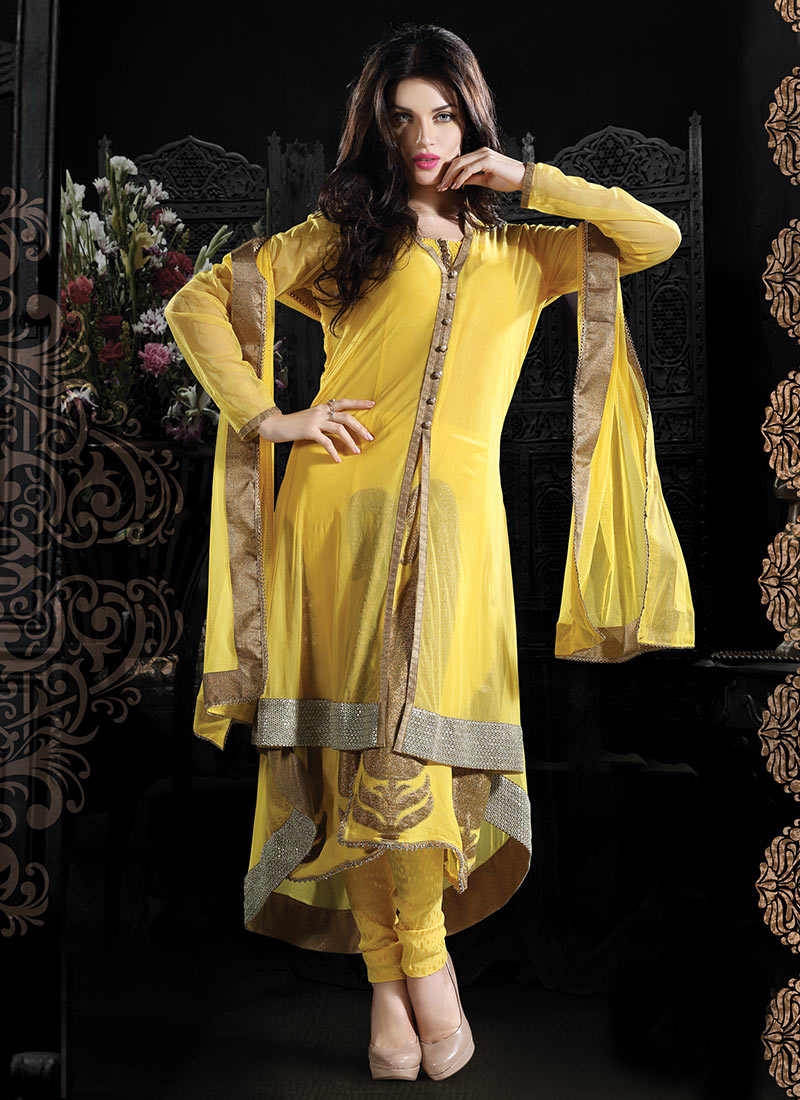 Indian Lenga Choli Designer Shalwar Suits Collection 2013