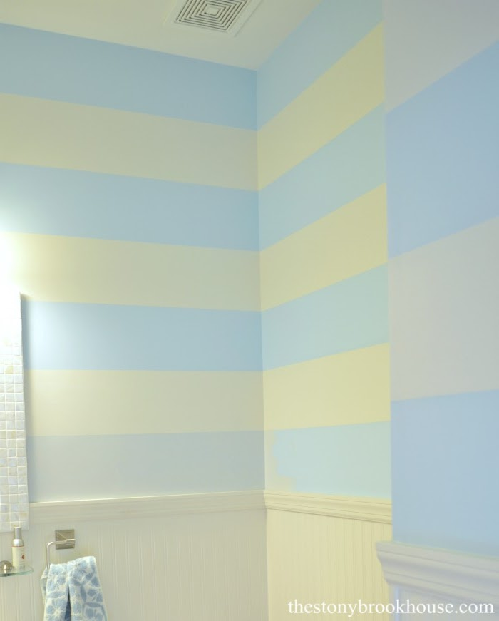 Powder Room Stripes