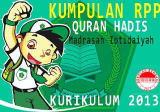[DOC] RPP Al-Qur'an Hadist MI Kelas 1 2 3 4 5 dan 6 Kurikulum 2013