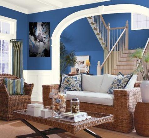 Decoraci 243 N De Salas De Color Azul C 243 Mo Arreglar Los