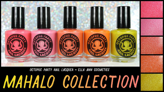 Octopus Party Nail Lacquer for Ella Ann | Summer 2017