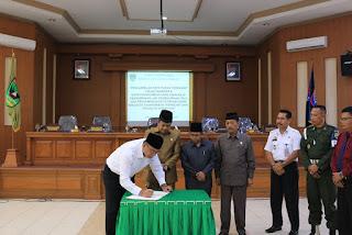 Tiga Perda Disetujui Dan Disahkan DPRD Kota Payakumbuh