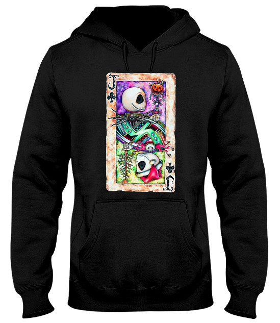 Jack Skellington Playing Card T Shirt Hoodie. Do you love it? Please LIKE & SHARE. GET IT HERE