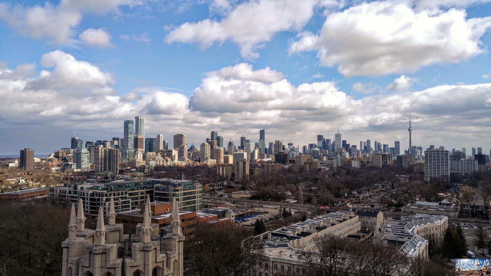 Canada Toronto panorama