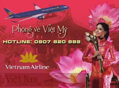 Vé máy bay Vietnam Airlines quận Tân Bình