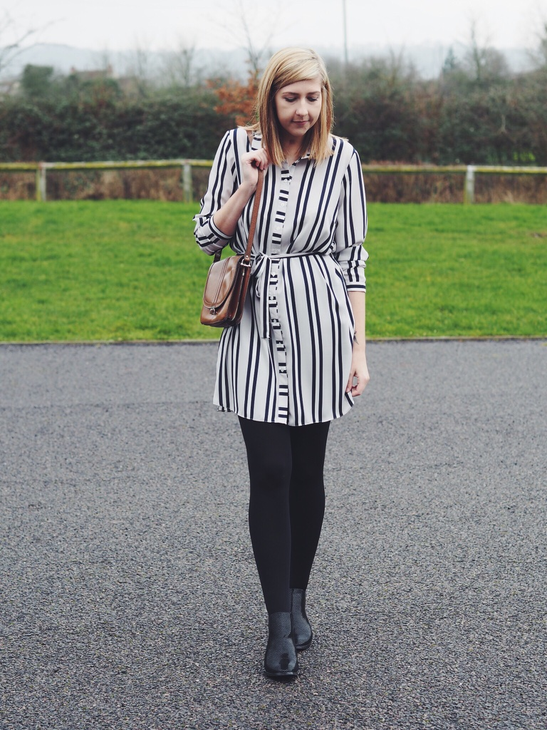 fbloggers, fblogger, fashionpost, fashionbloggers, wiw, whatimwearing, asseenonme, asos, primark, chelseaboots, stripedshirtdress, lotd, lookoftheday