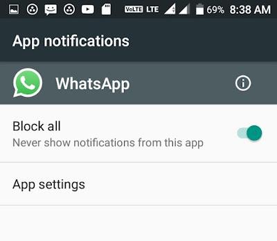 Whatsapp Tricks And Cheats, WhatsApp Notification Ko Block Kaise Kare