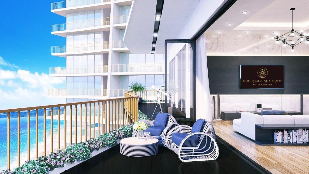 Thiết kế căn hộ đẳng cấp của Beau Rivage Trần Phú