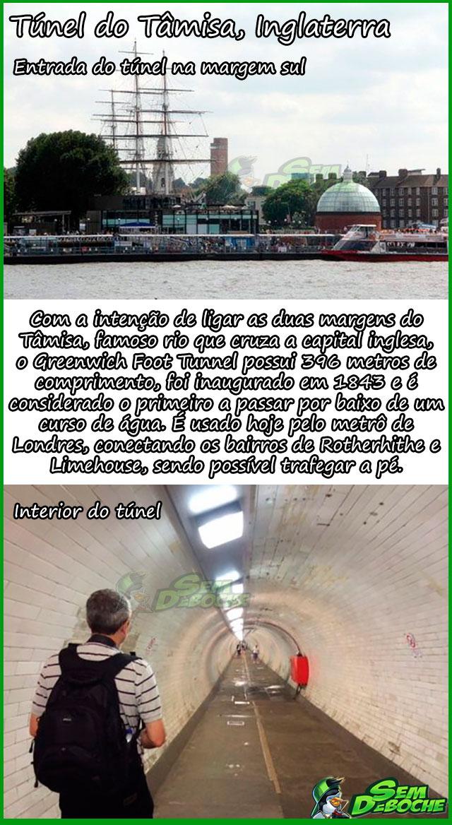 Túnel do Tâmisa, Inglaterra