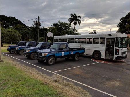 Nicaragua rechaza acusaciones de EE.UU. sobre vehículos donados