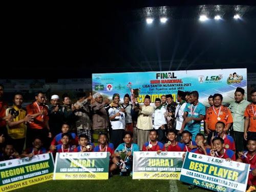 Darul Huda juara LSN 2017
