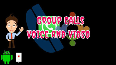 Whatsapp released group calling for voice and video.