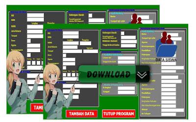 Aplikasi Untuk Input Data Individu Siswa Secara Lengkap