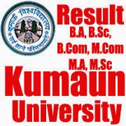 Kumaun University Result 2016