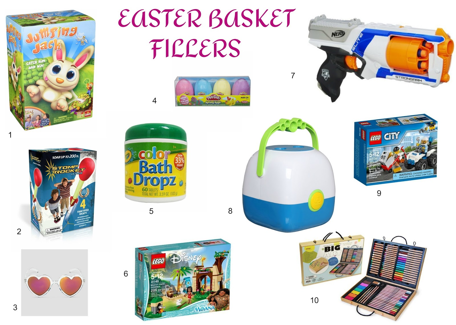 This happy life easter basket ideas 1 jumping jack game this game looks so fun and i love that all 3 of my kids can play it negle Choice Image