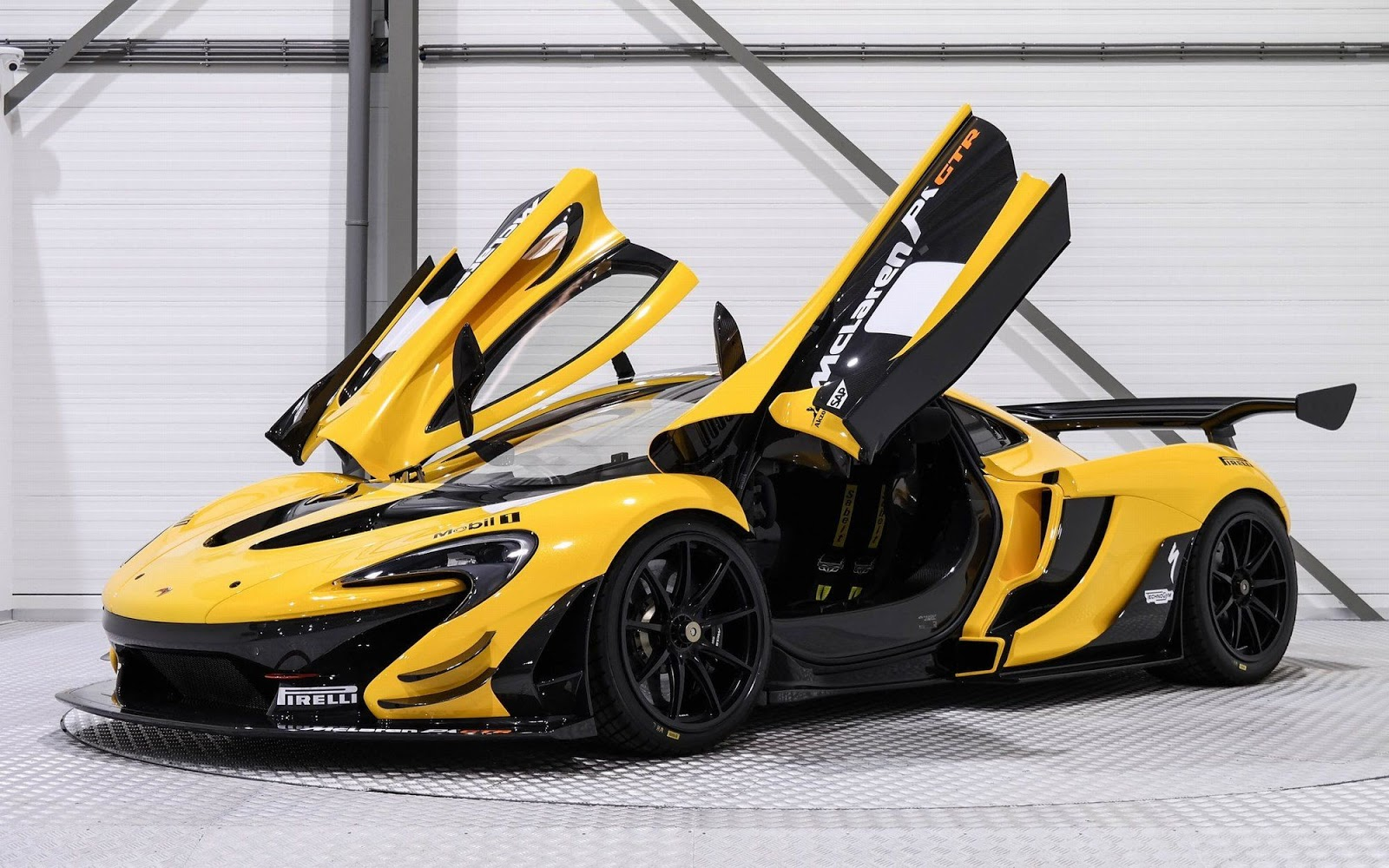 Yellow And Black McLaren P1 GTR Is A $3.3 Million Track ...