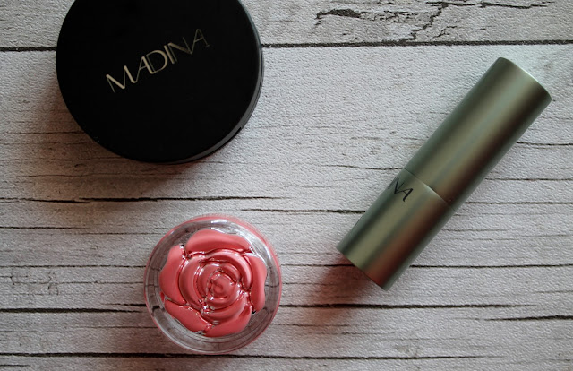 Madina Blush and Neve Cosmetics Blush in Tuesday Rose
