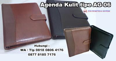 Jual Souvenir Agenda Kulit tipe AG-06