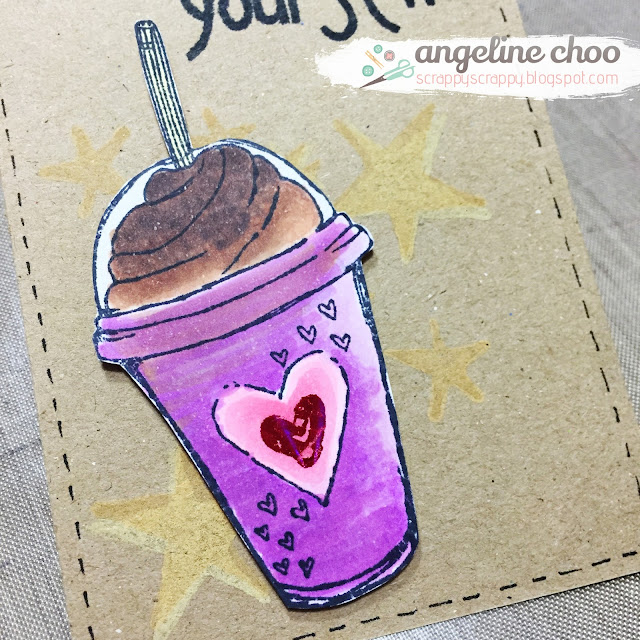 ScrappyScrappy: Summer Coffee Lovers tag #unitystampco #summerclh #copic #coffee #tag #stamp #coloring #summer
