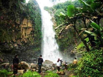 Obyek Wisata Alam Curug Putri - Brebes - Tegal