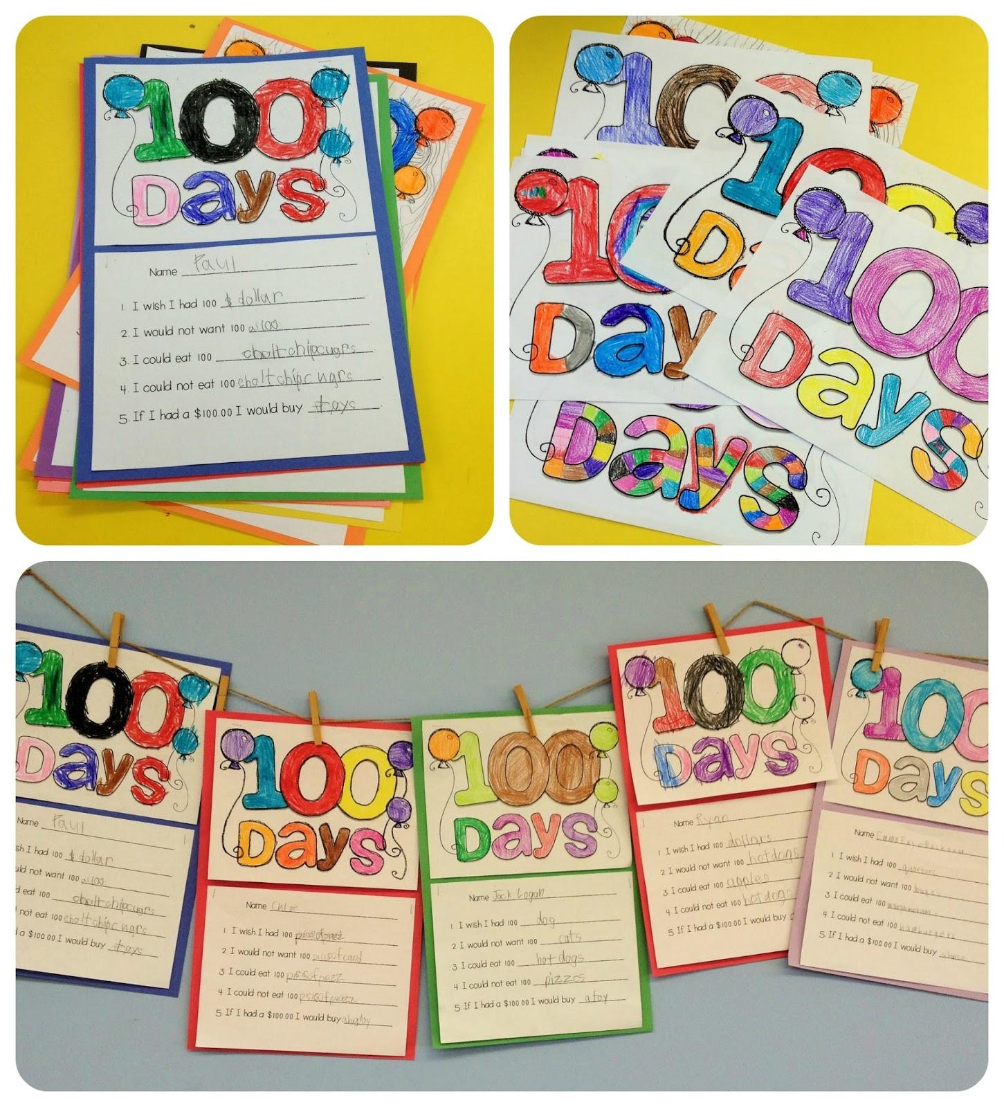 Doodle Bugs Teaching First Grade Rocks 100th Day Fun