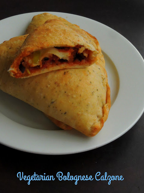 Vegetable & Beans Bolognese Calzone