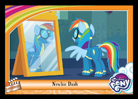 My Little Pony Newbie Dash Series 5 Trading Card