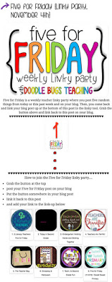 Five for Friday blog hop in Doodlebugs