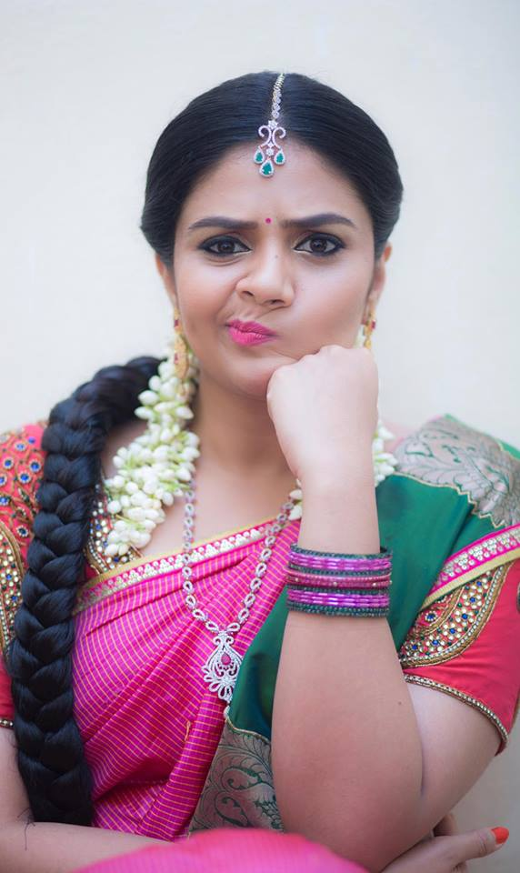 Sreemukhi Awesome cute Look New Stills