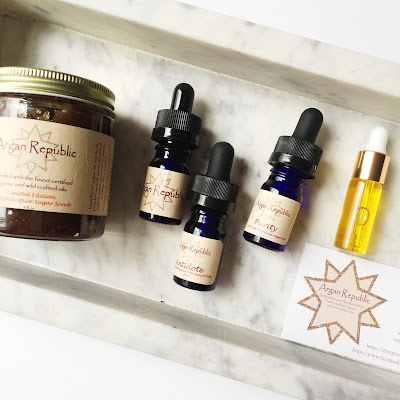 Argan Republic: Face Oils and Scrubs