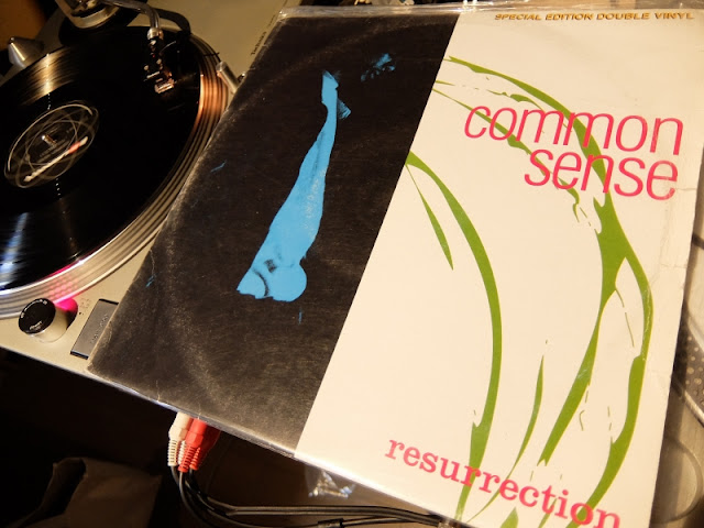 Ressurection / Common sense のレコードです。