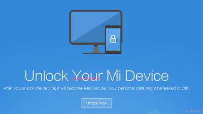 Unlock Xiaomi